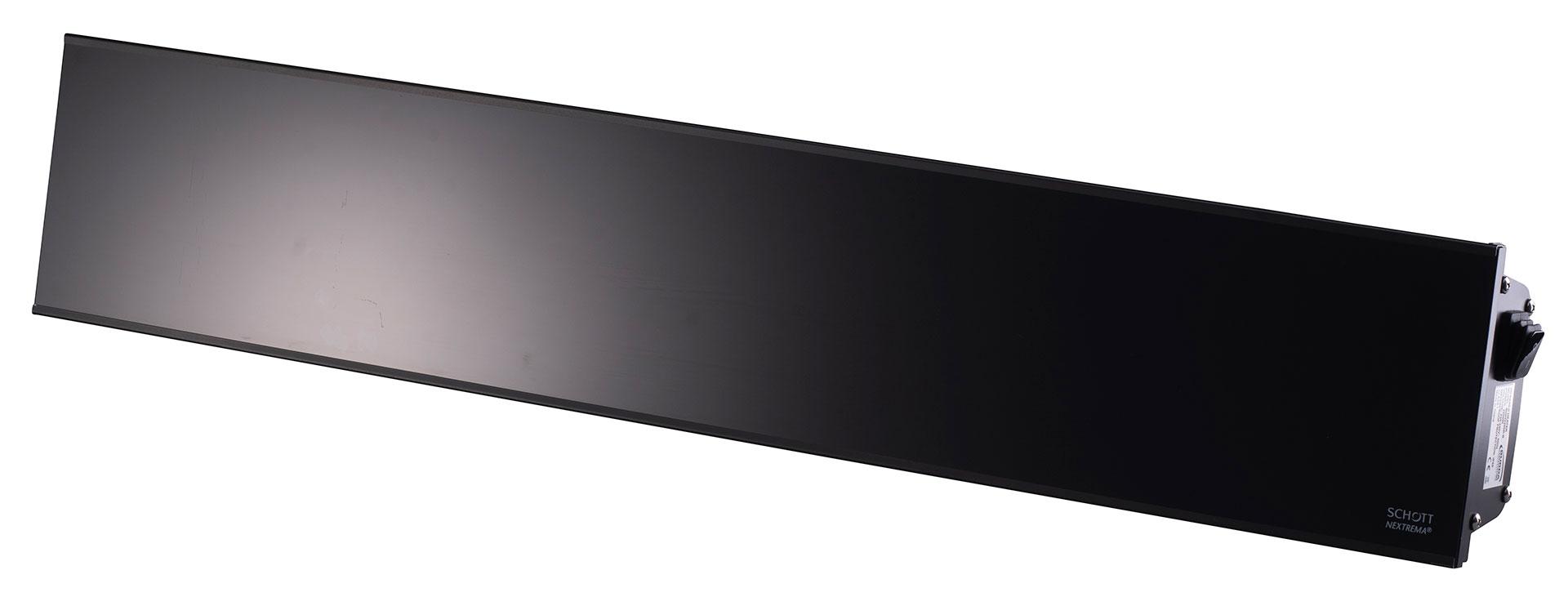 Relax Glass IRA IP65 Glasheizstrahler mit Kurzwelle