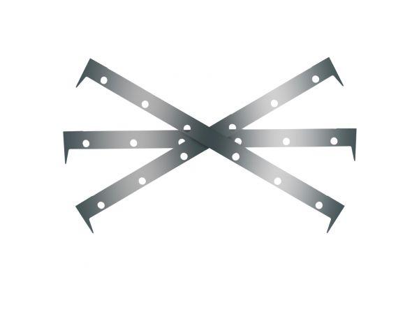 Shim-Set Zubehör für Super Air Knife Edelstahl 316