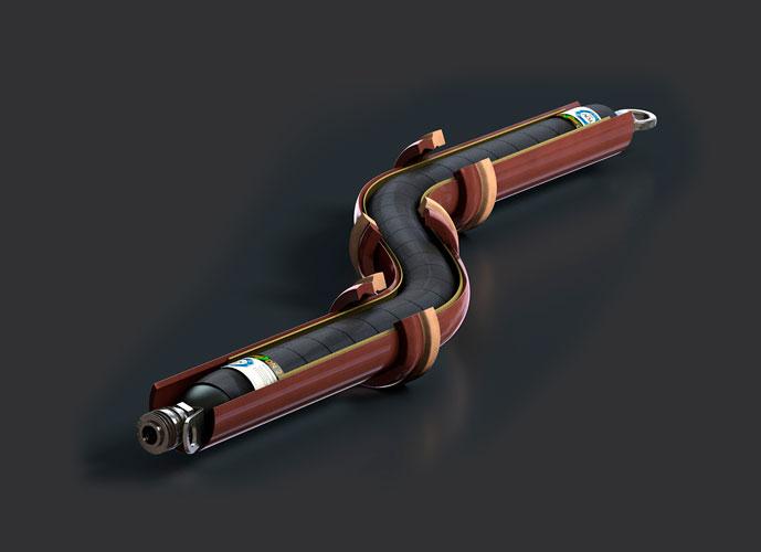 HD Packer lateral NW 25-1000 mm, Längen bis 5 m