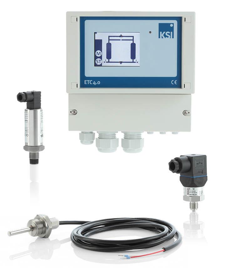 Taupunktsteuerung  ETP4.0 ECOTROCONOMY Premium mit Eingangsluftüberwachung für Trockner ATK-APN 1 - ATK 305