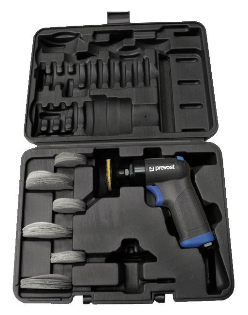 Prevost TPS E16000K Pistolen-Schwingschleifer 50 und 75 mm im Koffer