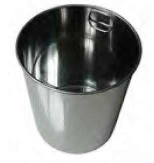 Einsatzbehälter aus Edelstahl 5 - 60 Liter