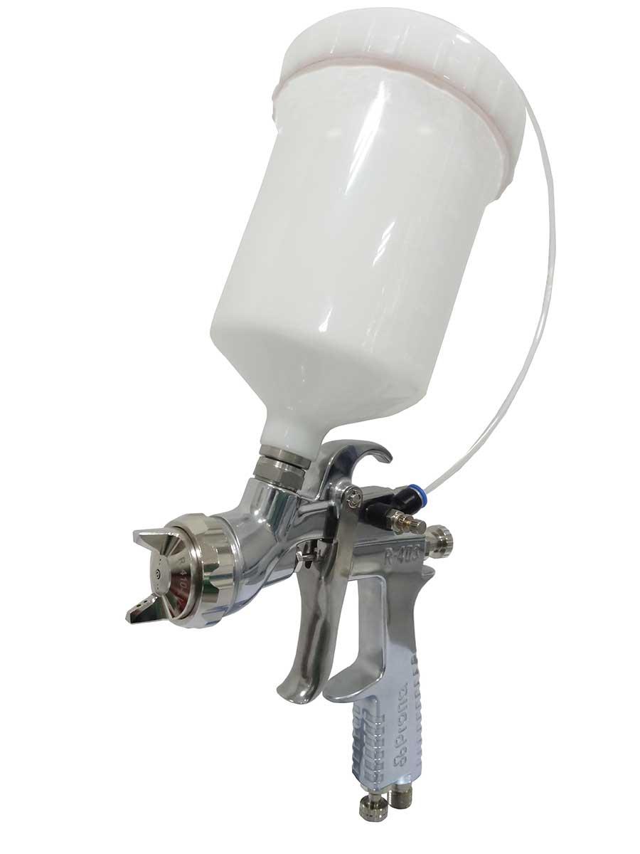 Druckbecher 600 ml für Farbspritzpistole R-403 Prona