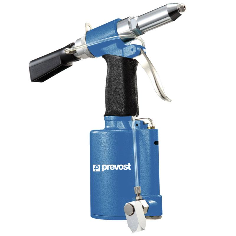 Prevost TAR 481220 Hydraulisch-pneumatische Nietmaschine mit Absaugvorrichtung