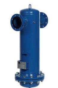 KSI Filtertechnik Wasserabscheider mit Flanschanschluss