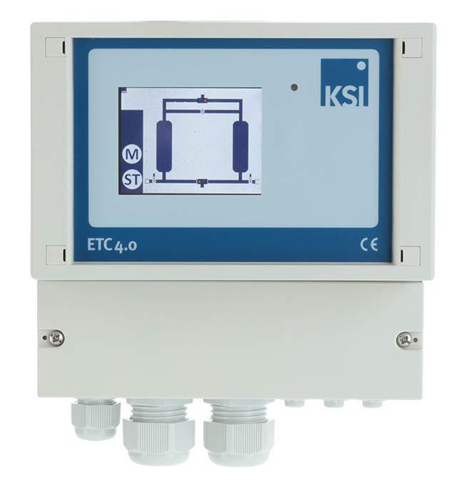 Taupunktsteuerung ETC4.0 ECOTROCONOMY Comfort mit Display für Trockner ATK-APN 1 - ATK 305