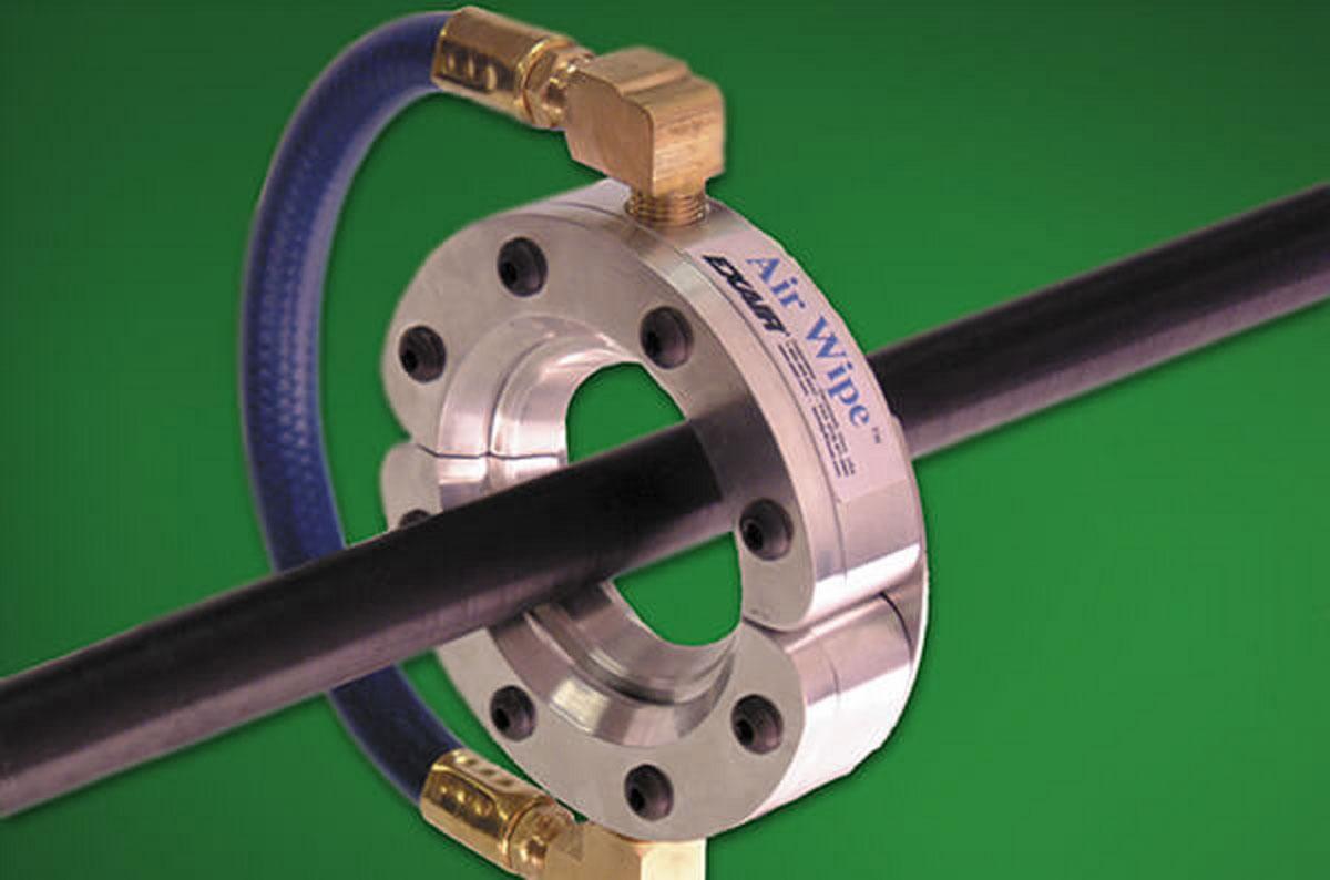 "Ringdüse Standard Air Wipe 3/8"" - 11"", Aluminium, 1/4"" BSP, inkl. Kunststoffshim"