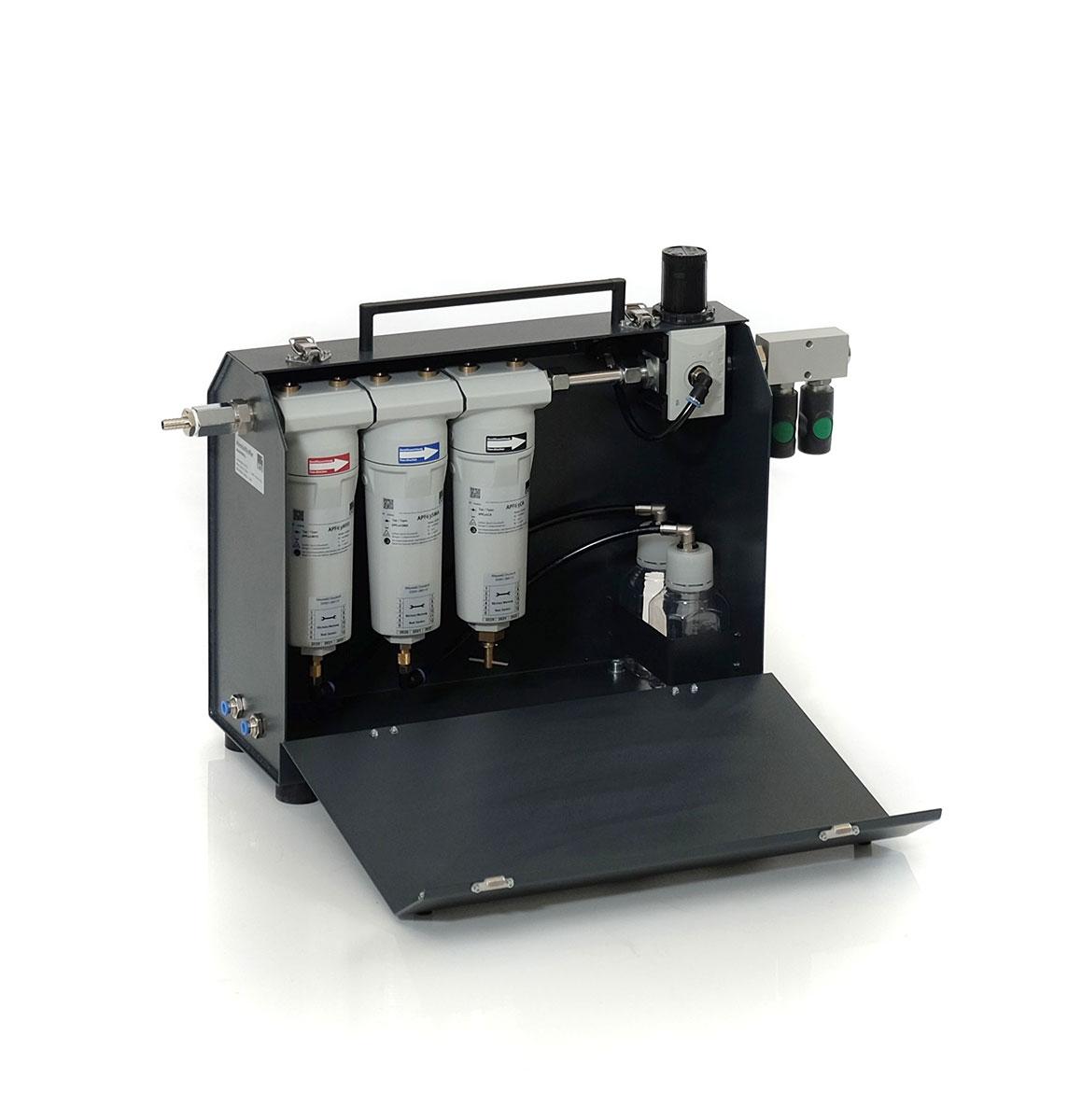 KSI Filtertechnik MAK63 Mobiles Atemluftsystem mit 3-facher Filterstufe