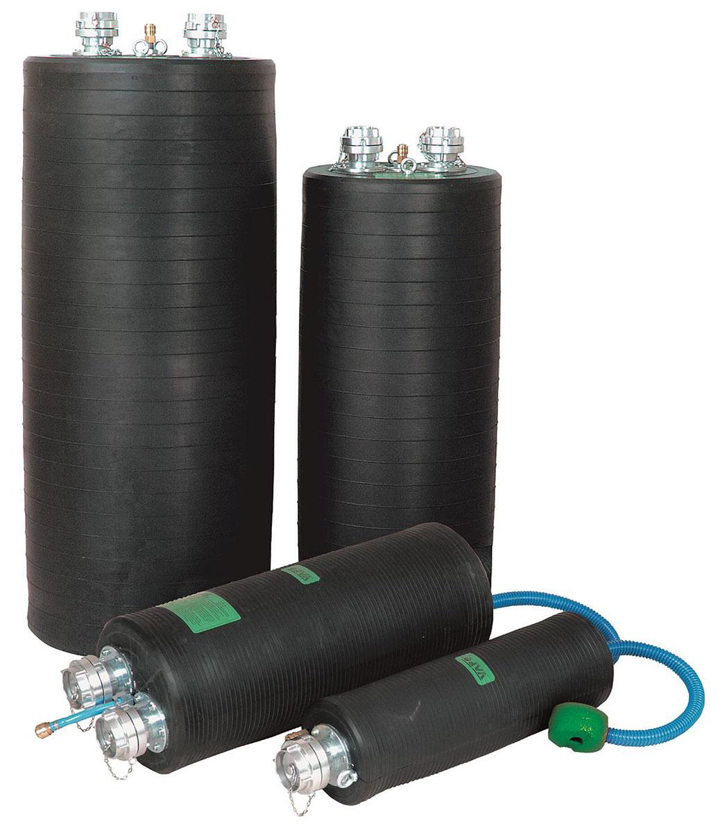 Flexible Rohrdichtkissen PU-F zur Abdichtung und Prüfung 70 - 1600 mm