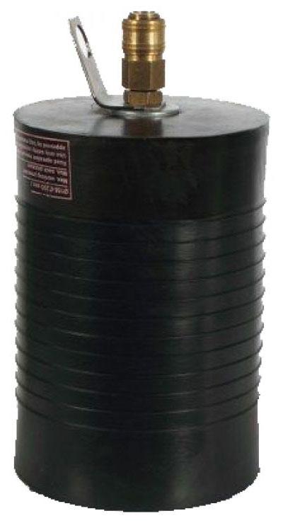 Kurze Absperrblase Rohrstopfen 50 - 400 mm
