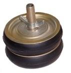 Absperrscheiben mit 2 Dichtringen, Stahl-Ausführung, DN 40 - 400