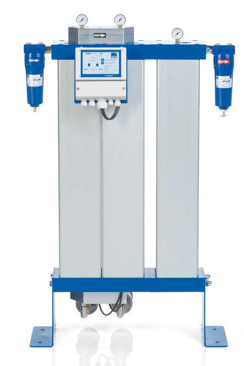 Adsorptionstrockner für medizinische Druckluftaufbereitung KSI ECOTROC® ATMN   ATM-APN
