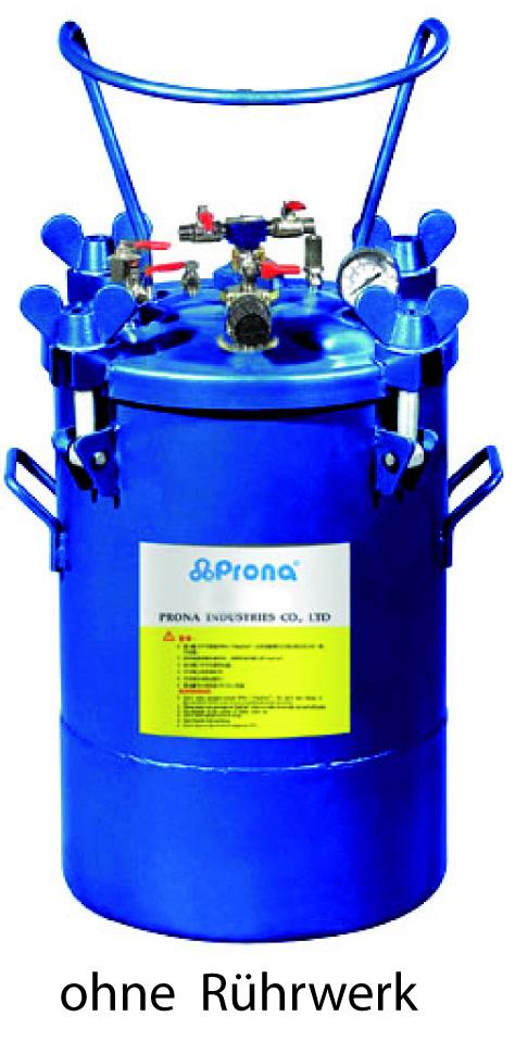 Drucktank aus Aluminium 10 Liter Prona