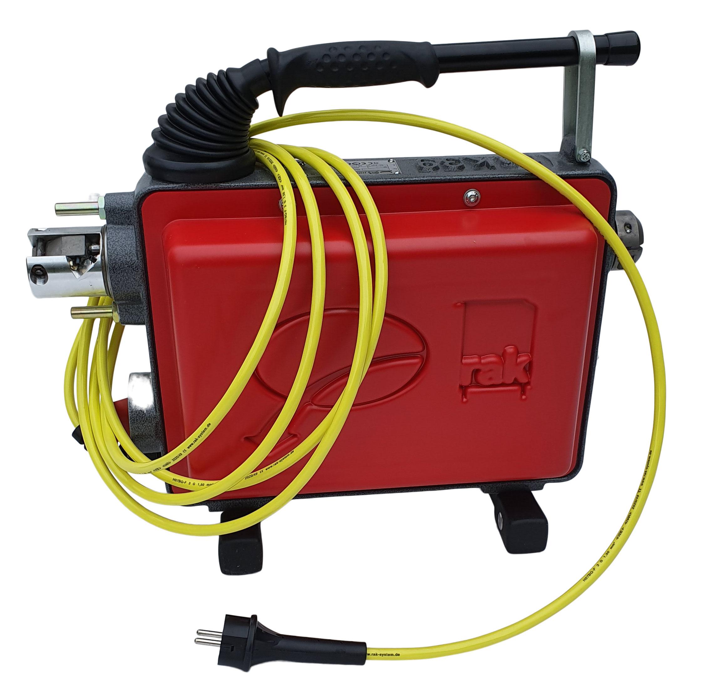 rak-41 Profi-Rohrreinigungsmaschine für schwere und industrielle Reinigungsarbeiten