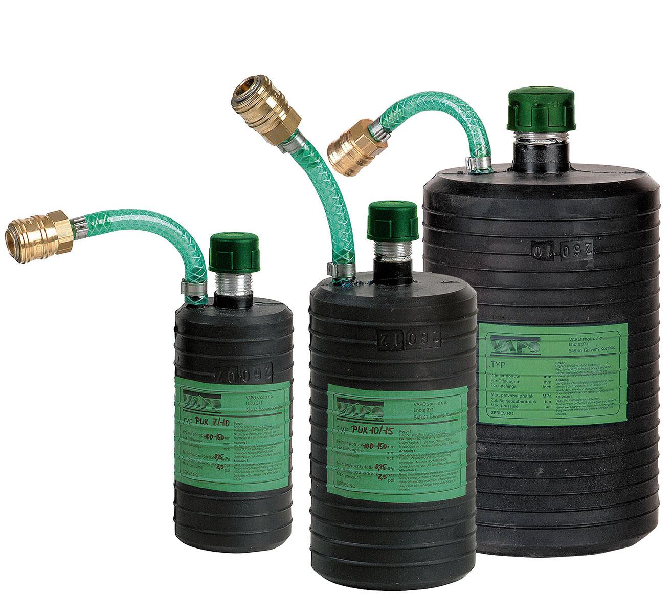 Kurze Durchgangs-Rohrdichtkissen PUK für beengte Verhältnisse 50 - 400 mm